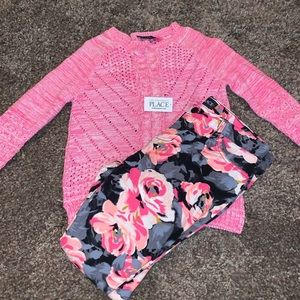 Girl's Sweater & Jegging Set BRAND NEW w/ TAGS!